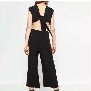 Zara backless jumpsuit size xs